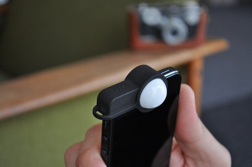 Luxi, medidor de luz incidente para el iPhone