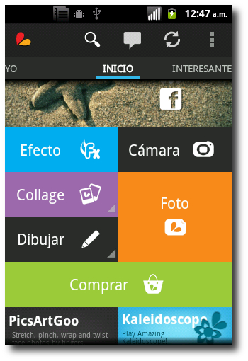 PicsArt-Estudio, todo en uno de los editores de fotos para Android