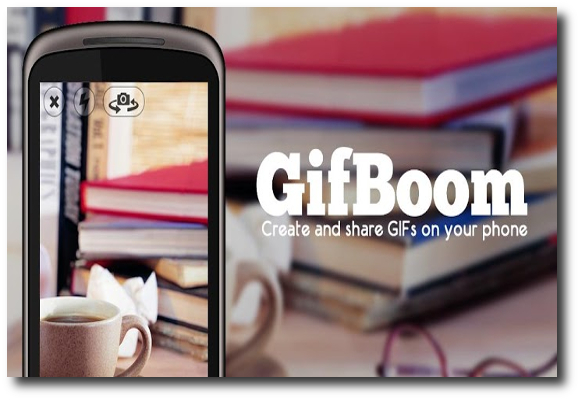 GifBoom, Gifs animados desde tu iPhone o móvil Android