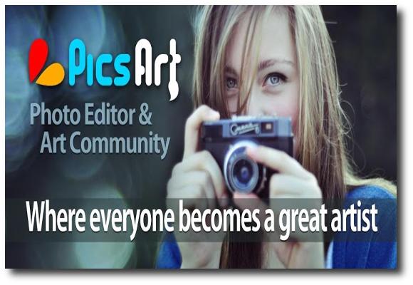 PicsArt-Estudio, el todo en uno de los editores de fotos para Android