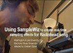 Manipulación de voces en tiempo real utilizando SampleWiz