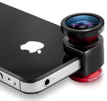 The Olloclip sistema de lentes para el iPhone
