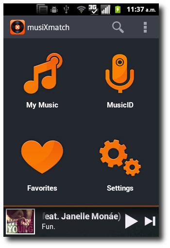 reproduce tu música favorita con MusiXmatch