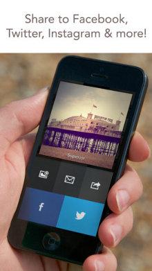 Compartir fotos Analog Camera