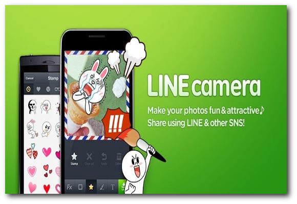 LINE Camera para Android, haz tus fotos más divertidas y compártelas con tus amigos