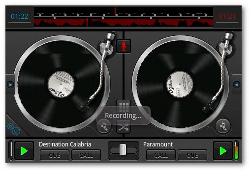 recording DJ android