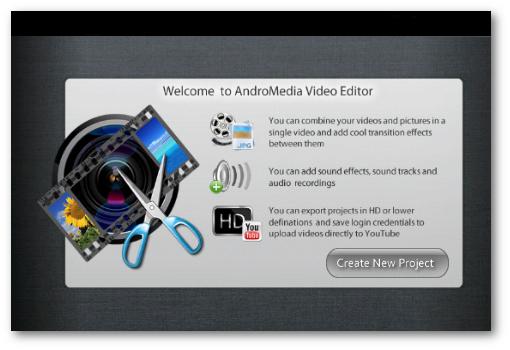 Andromedia Video Editor para android
