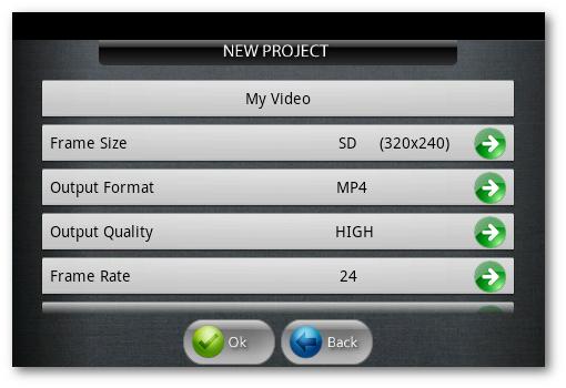 crear nuevo proyecto de videos para youtube