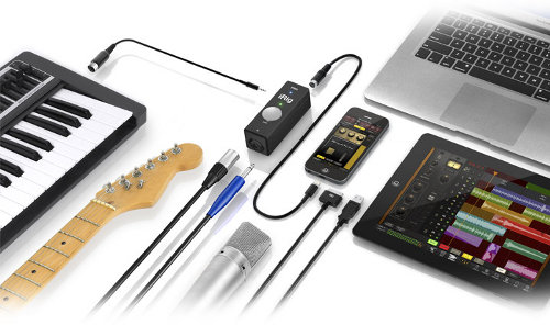 iRig PRO, interfaz audio/MIDI para iPhone, iPad y Mac