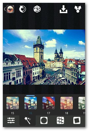 Editando imagen Retro en Android