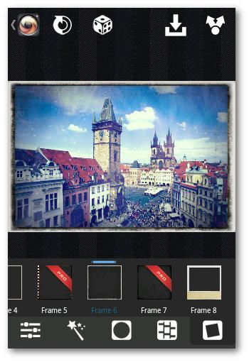 Utilizando Frames en XnRetro Android