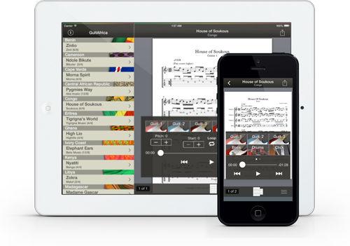 GuitAfrica para iPad y iPhone