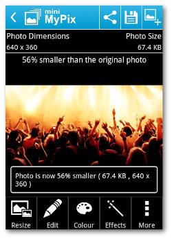 Editor de imágenes para Android