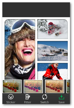 crear Collage de fotos con PhotoArt