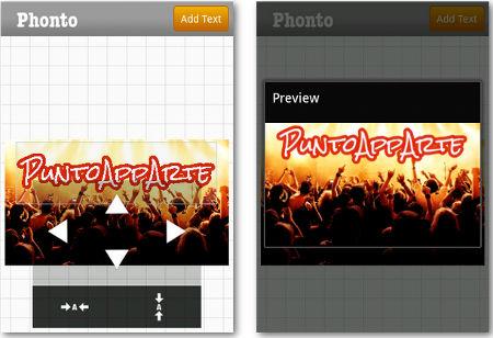 Agregar texto a fotos utilizando Android