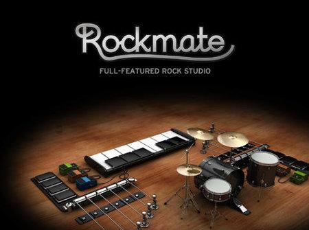 Rockmate completo estudio musical para el iPad