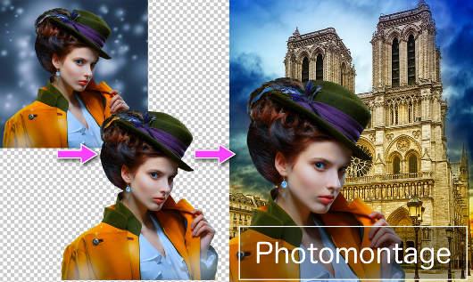 App para cambiar fondo fotos