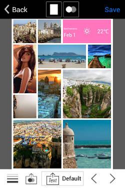 aplicacion de fotos InstaMag Android