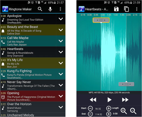 App para tonos Ringtone
