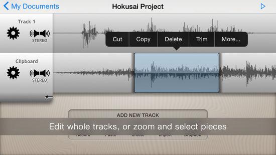 app para editar canciones en el ipad