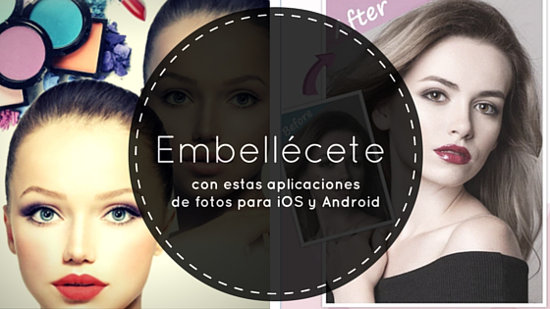 portada aplicaciones de fotos para iOS y Android