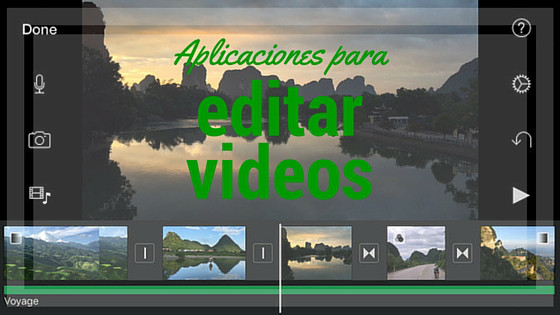 Top aplicaciones para editar video