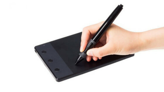 tableta de dibujo